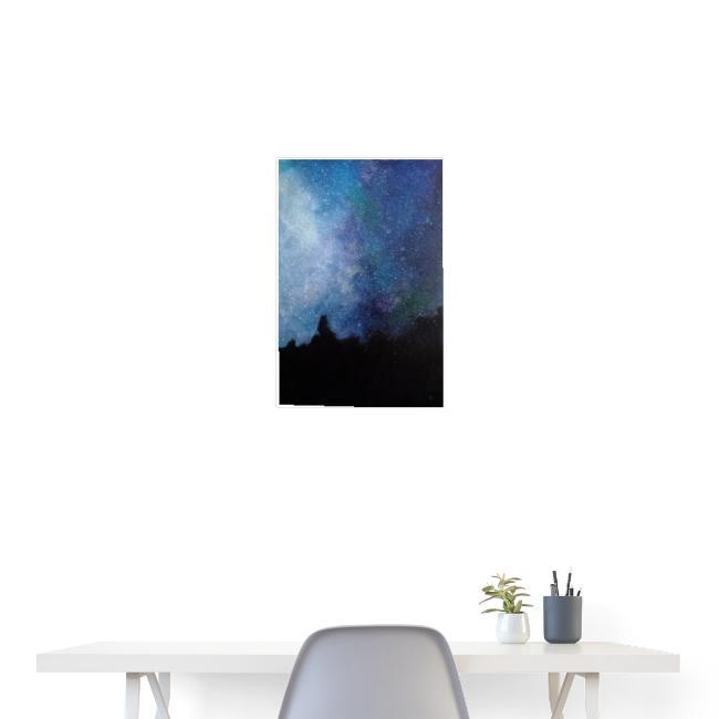 Obraz Gwiazdy, przedruk z oryginału.
