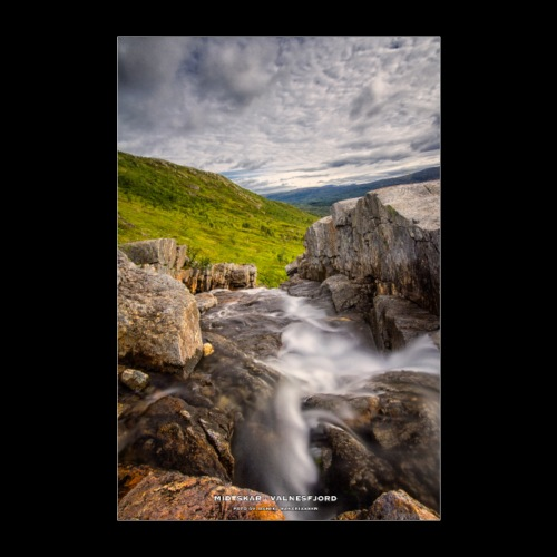 Midtskar - Valnesfjord - Poster 40x60 cm