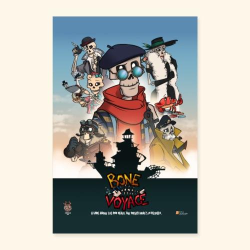 Movie Stijl Poster - Poster 16 x 24 (40x60 cm)