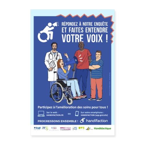 Affiche Handifaction 2019 - Poster 40 x 60 cm