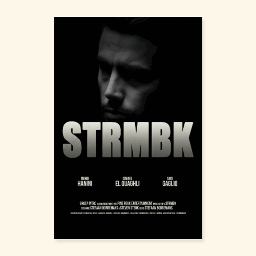 STRMBK POSTER - Poster 40x60 cm