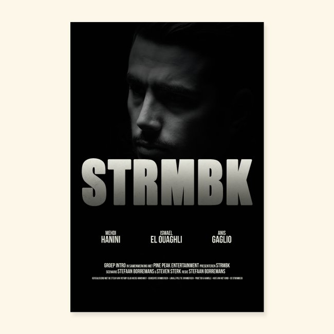 STRMBK POSTER