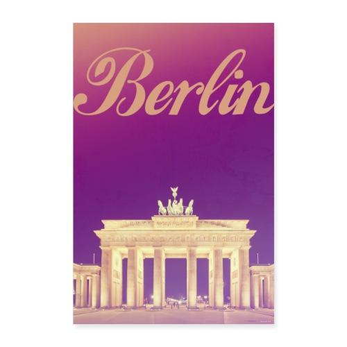 BERLIN Capitale de l'Allemagne - Poster 40 x 60 cm