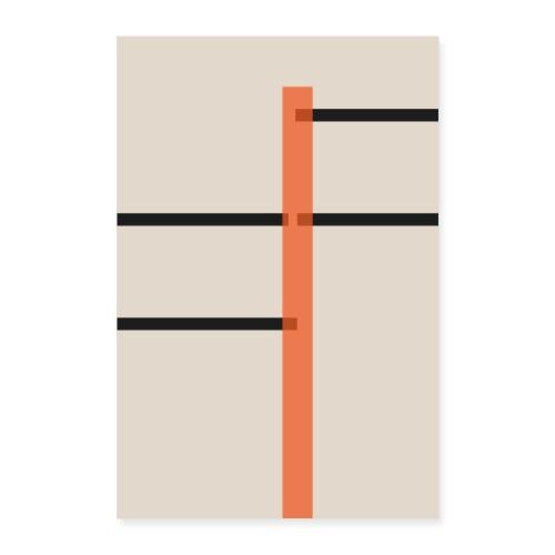 Strasse - Poster 40x60 cm