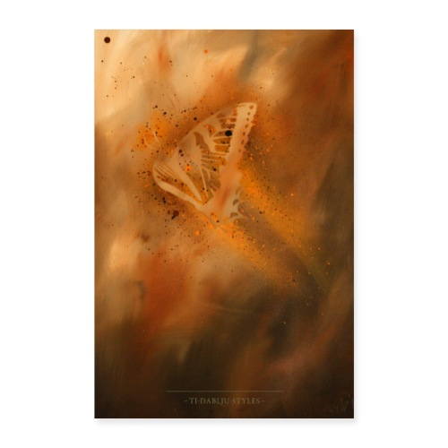butterfly 1 - Poster 40x60 cm