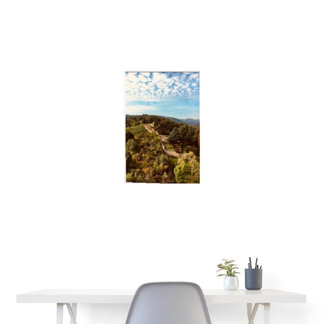 Pfalz - Pfälzer Wald - Mauer/ Events&Reisen Poster