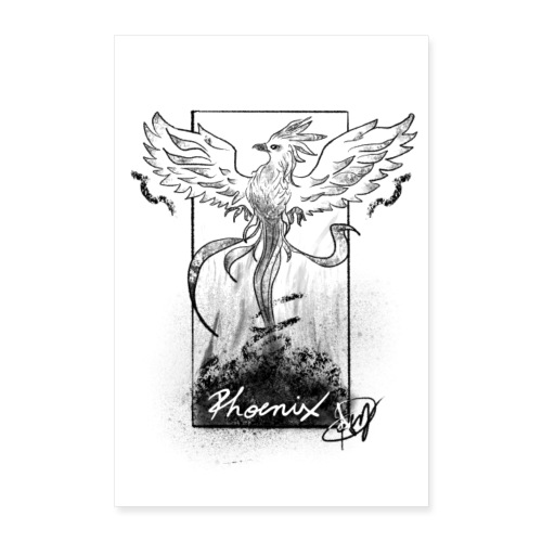 Fenice - Poster 40x60 cm