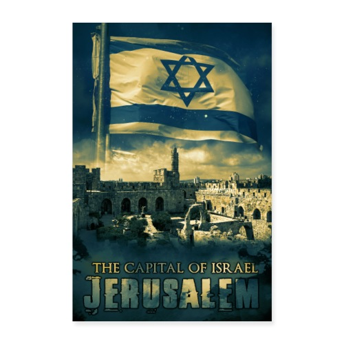 Poster Jerusalem - Poster 40x60 cm