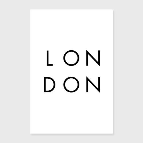 LONDON - Poster 40 x 60 cm