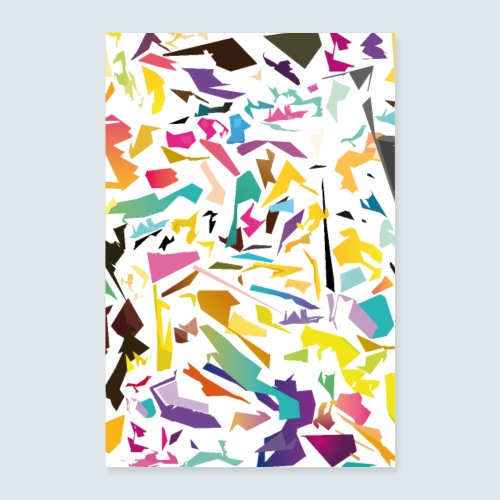 Farbenphysik - Poster 40x60 cm