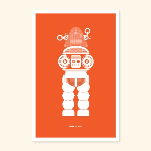 Robbie The Robot - Poster 16 x 24 (40x60 cm)