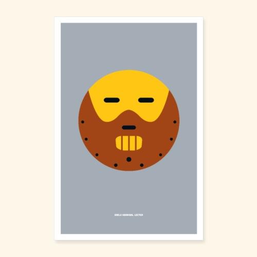 Emoji Lecter - Poster 16 x 24 (40x60 cm)