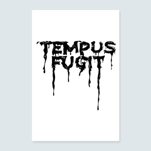 Tempus Fugit - Poster 40x60 cm