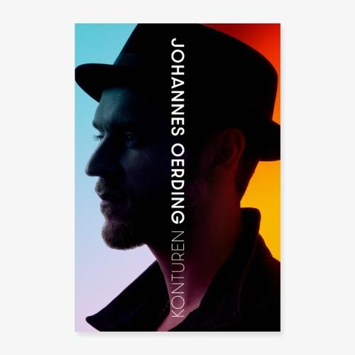 Poster Konturen Cover - Poster 40x60 cm