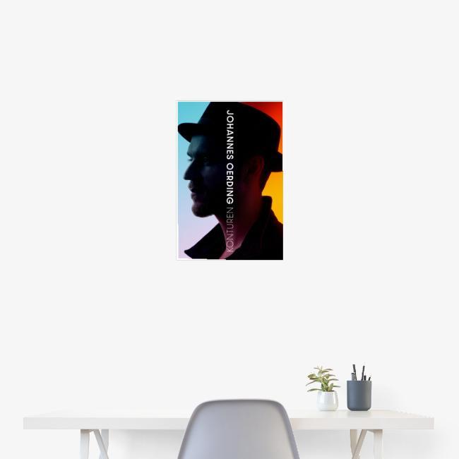 Poster Konturen Cover