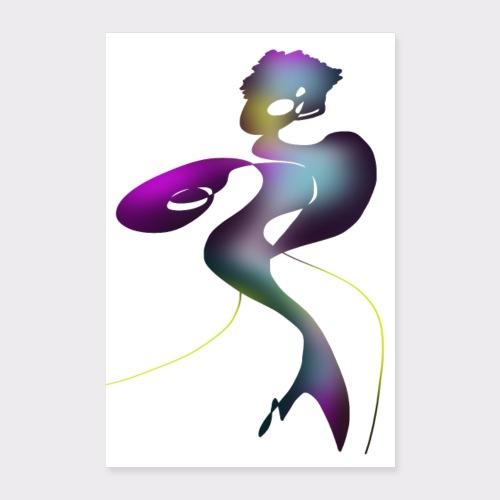 Poster Fashion Lady - Poster 40x60 cm