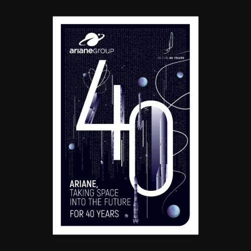40 years Ariane by Mathilde Magnon - Poster 16 x 24 (40x60 cm)