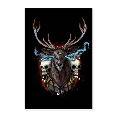 Deer - POSTER - Poster 16 x 24 (40x60 cm)