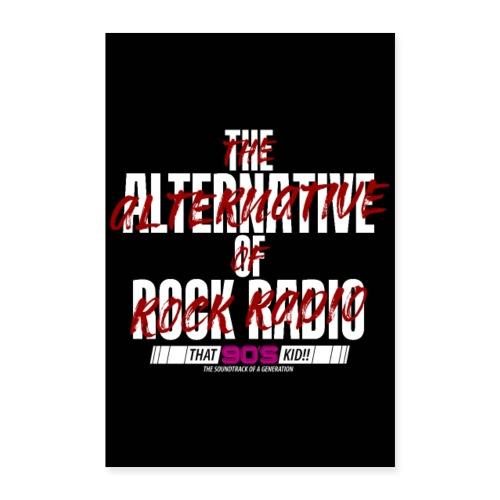 The Alternative of Rock Radio - Poster 16 x 24 (40x60 cm)