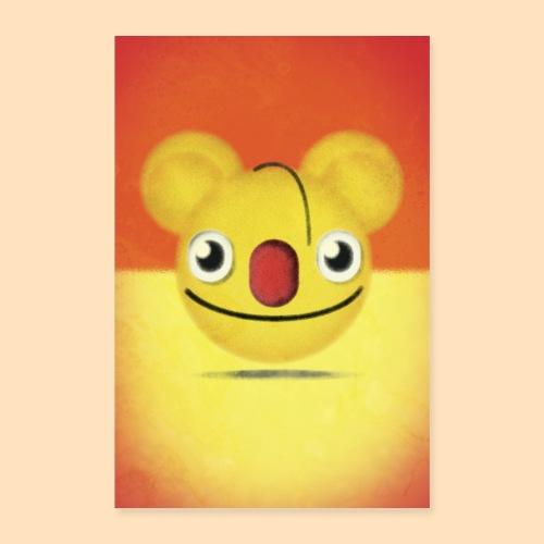 Ernie Mouse Emoji - Poster 40x60 cm