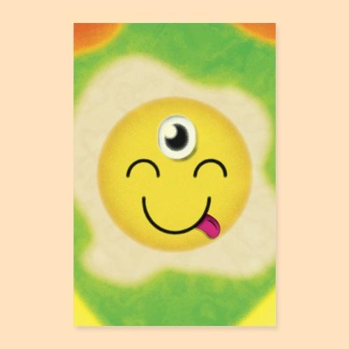 Das dritte Auge Emoji - Poster 40x60 cm