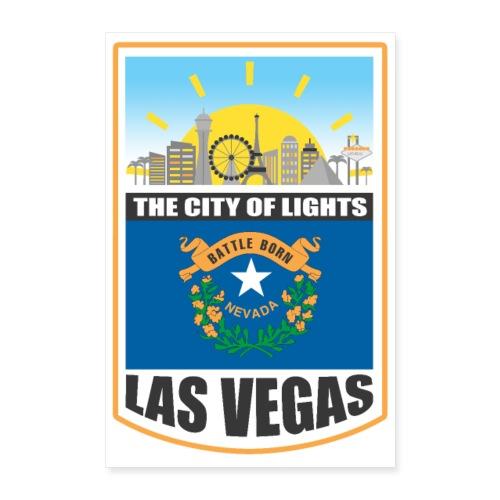 Las Vegas - Nevada - The city of light! - Poster 16 x 24 (40x60 cm)