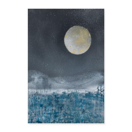 Blue Moon - Poster 16 x 24 (40x60 cm)