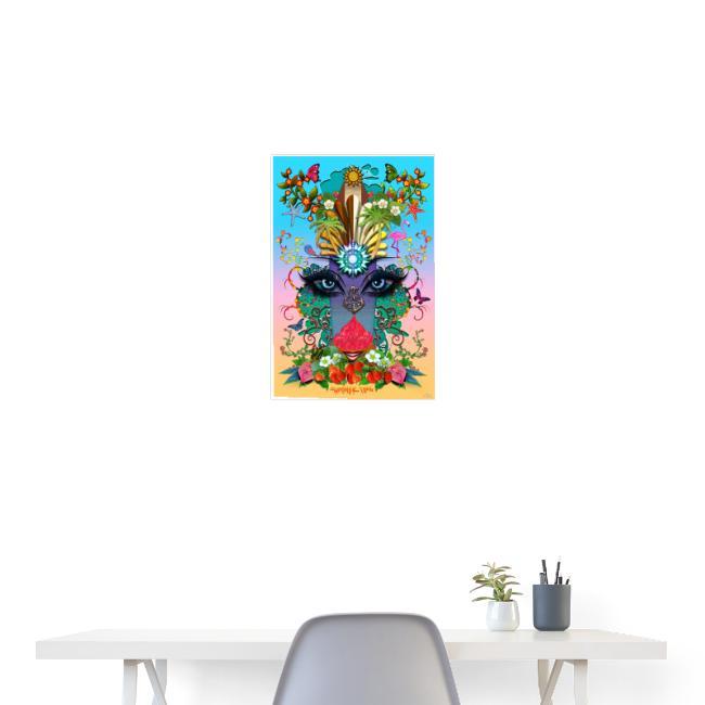Poster - Summer Time - couleur tropique