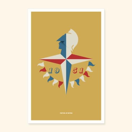 Festival Of Britain - Poster 16 x 24 (40x60 cm)
