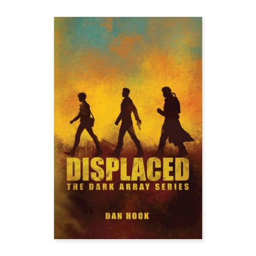 Displaced Original Cover Poster - Poster 16 x 24 (40x60 cm)