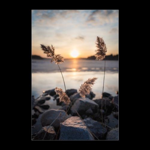 Kevättalvi Saimaalla - Juliste 40x60 cm