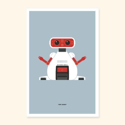 TOMY Dingbot - Poster 16 x 24 (40x60 cm)