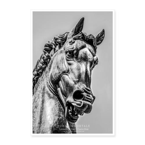 Ippolandia Pferd des Leonardo Da Vinci - Poster 40x60 cm