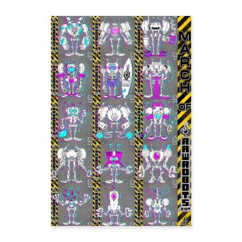#MarchOfRobots ! NR 16-30 - Poster 40x60 cm