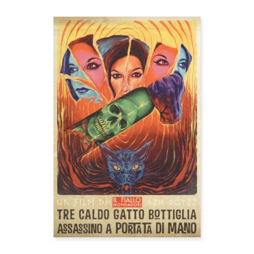 Tre Caldo Gatto... / Fiallo - COLOR (1 print) - Juliste 40x60 cm
