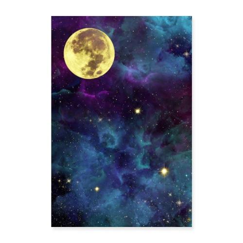Golden Universe - Poster 40x60 cm
