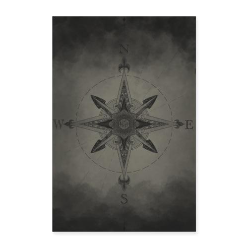 Kompass - Poster 40x60 cm