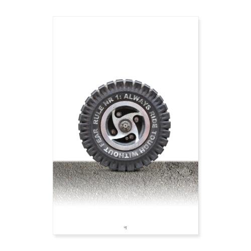 toughwheel - Poster 40x60 cm