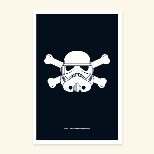 Skull & Crossbones Stormtropper - Poster 16 x 24 (40x60 cm)
