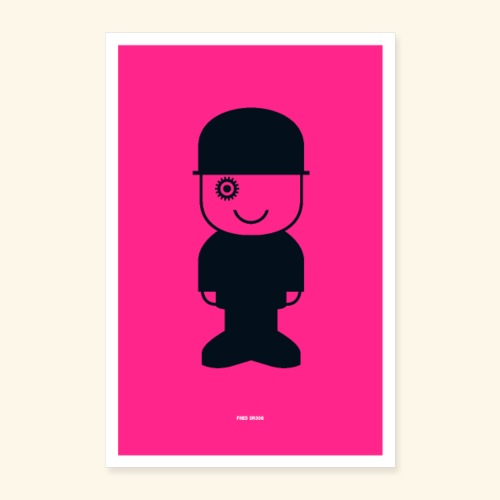 Fred Droog - Poster 16 x 24 (40x60 cm)