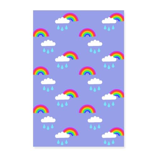 Sadepäivän ilo - Juliste 40x60 cm
