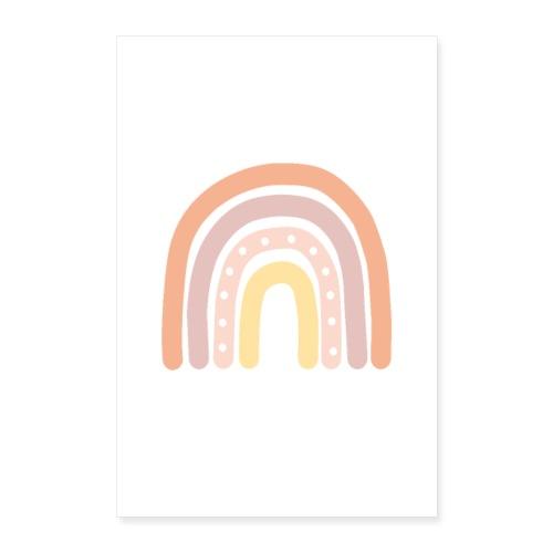 Regenbogen Poster Kinderzimmer - Poster 40x60 cm