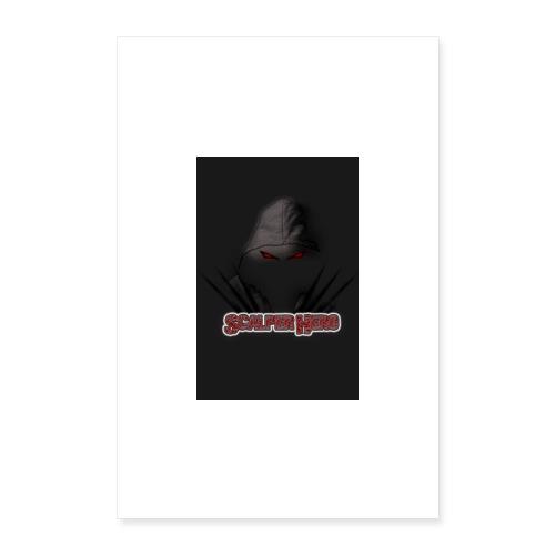 Scalperhero Poster - Poster 16 x 24 (40x60 cm)