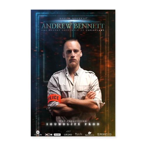 Affiche AndrewBennett David Delayat - Poster 40 x 60 cm