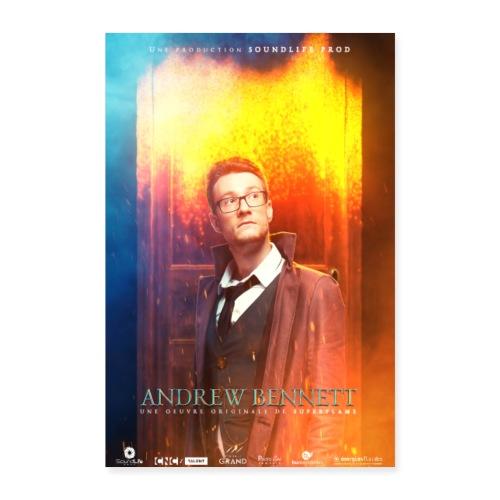 Andrew Bennett - Poster 40 x 60 cm