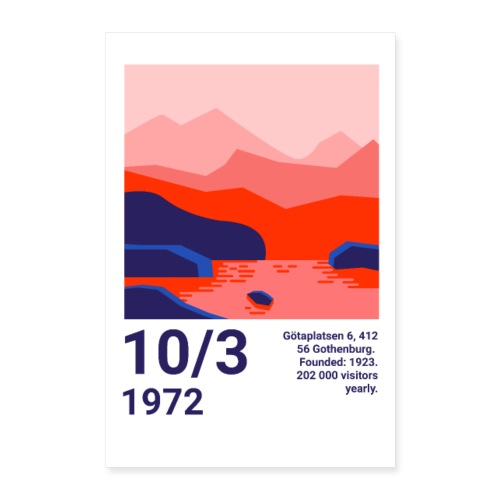 Poster - Poster 40x60 cm