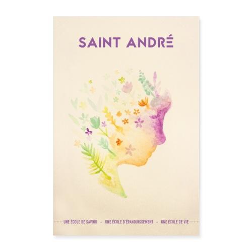 Poster Vie À Saint André 101 - Poster 40 x 60 cm