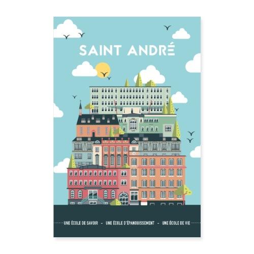 Poster Vie À Saint André 103 - Poster 40 x 60 cm