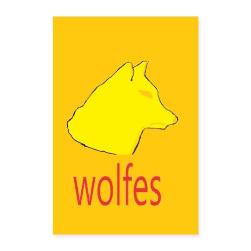 wolfes plakat - Poster 40x60 cm
