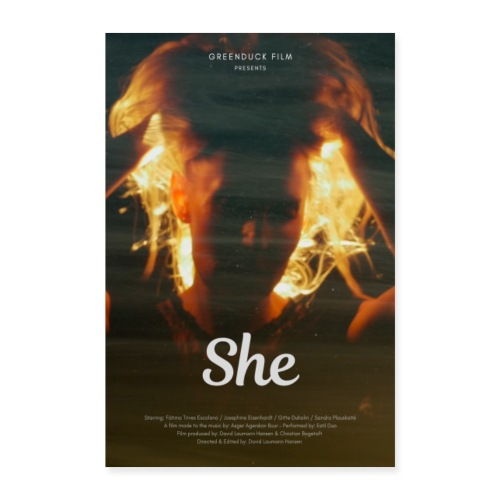 She Movie Poster - Poster 40x60 cm